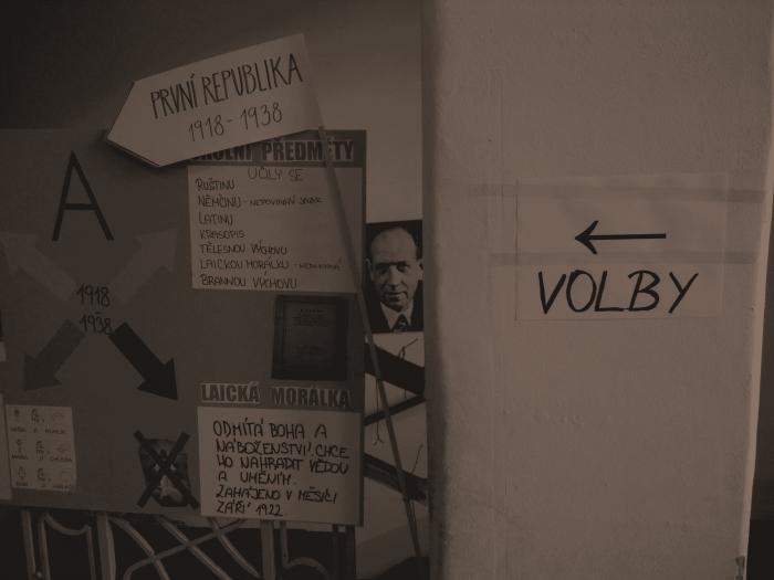 Lokal wyborczy na Pradze 3, fot. Katarzyna Pyrka